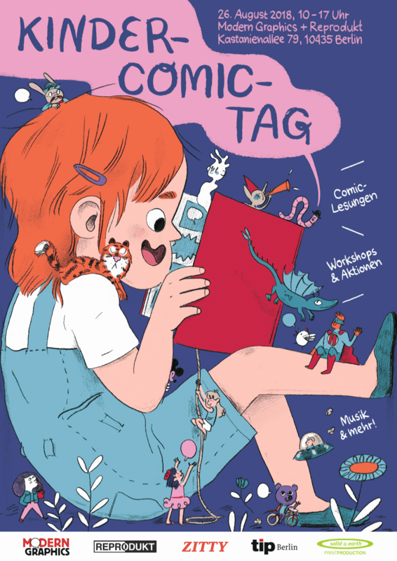 KinderComicTag_Plakat